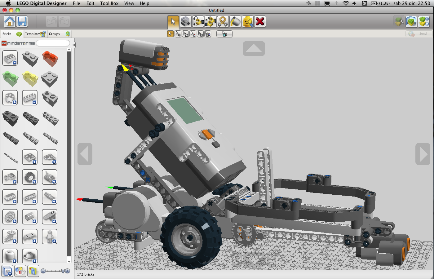 Buone feste con lego digital designer for Lego digital designer templates